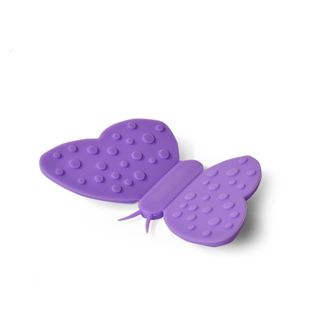 Прихватка в форме бабочки с магнитом (силикон)