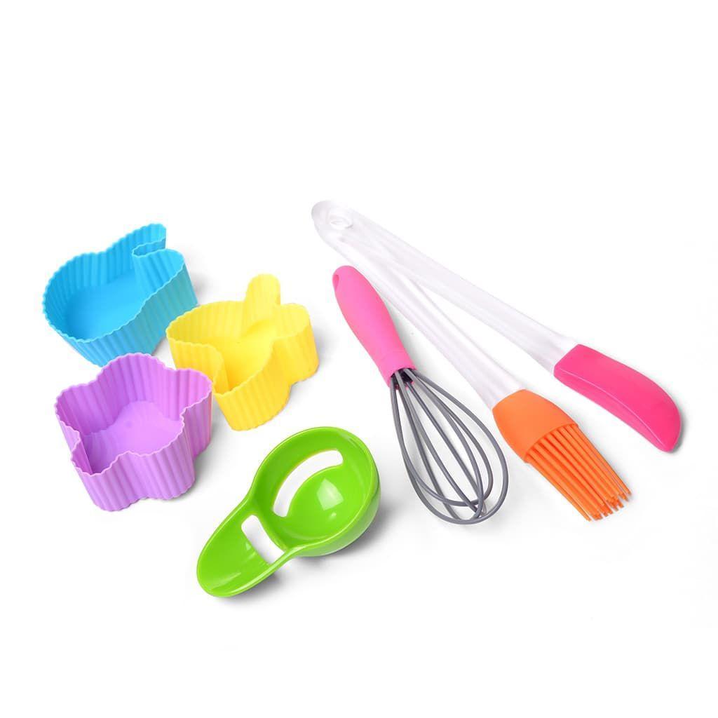 Набор принадлежностей для выпекания мини-кексов 7 пр. (силикон)